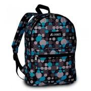 Everest 1045KP-BL-GRY DOT Basic Pattern Backpack - Blue & Gray Dot(EVRT719)