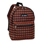 Everest Basic Pattern Backpack - Orange(EVRT537)