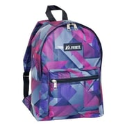 Everest 1045KP-PUP-PK GEO Basic Pattern Backpack - Purple-Pink(EVRT538)