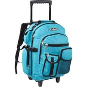 Everest Deluxe Wheeled Backpack - Turquoise(EVRT689)