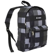 Everest 1045KP-CCA-GRY PLAID Basic Pattern Backpack - Charcoal-Grey(EVRT533)