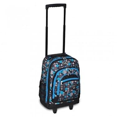 Everest 9045WH-BL-GRY DOT Wheeled Backpack - Blue & Gray Dot(EVRT735)
