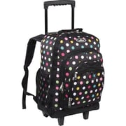 Everest Wheeled Backpack with Pattern - Polka Dots(EVRT694)