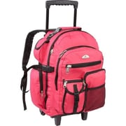 Everest Deluxe Wheeled Backpack - Hot Pink(EVRT688)