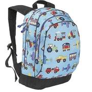 Wildkin Olive Kids Trains Planes & Trucks Backpack(WILD157)
