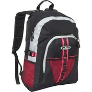 Everest 3045W-HPK-GRY-BK Backpack with Dual Mesh Pocket - Hot Pink-Grey-Black(EVRT642)