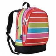 Wildkin Bright Stripes Sidekick Backpack(WILD915)