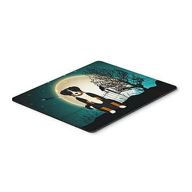 Carolines Treasures Halloween Scary Appenzeller Sennenhund Mouse Pad, Hot Pad or Trivet(CRLT118994)