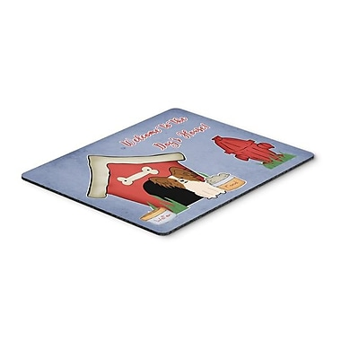 Carolines Treasures Dog House Collection Papillon Red & White Mouse Pad, Hot Pad or Trivet(CRLT119446)