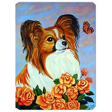 Carolines Treasures 8 x 9.5 in. Papillon Mouse Pad, Hot Pad or Trivet(CRLT20113)