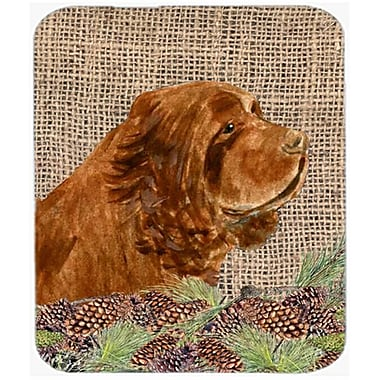 Carolines Treasures Sussex Spaniel Mouse Pad, Hot Pad or Trivet(CRLT21668)