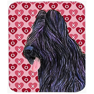 Carolines Treasures Briard Hearts Love And Valentines Day Mouse Pad, Hot Pad Or Trivet(CRLT21399)