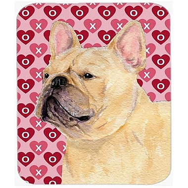 Carolines Treasures French Bulldog Hearts Love And Valentines Day Mouse Pad, Hot Pad Or Trivet(CRLT21416)