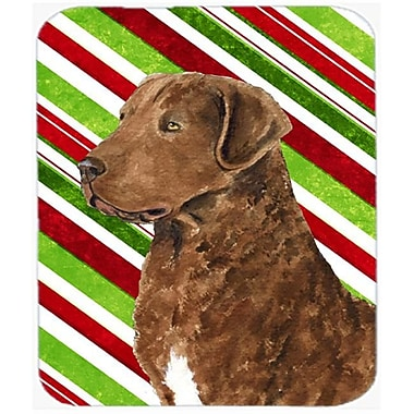 Carolines Treasures Chesapeake Bay Retriever Candy Cane Christmas Mouse Pad, Hot Pad Or Trivet(CRLT23465)