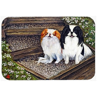 Carolines Treasures Japanese Chin Daddys Girls Mouse Pad, Hot Pad & Trivet(CRLT79254)