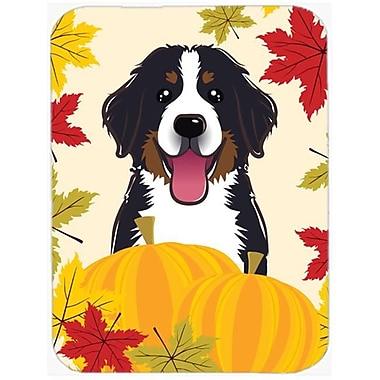 Carolines Treasures Bernese Mountain Dog Thanksgiving Mouse Pad, Hot Pad or Trivet(CRLT93755)