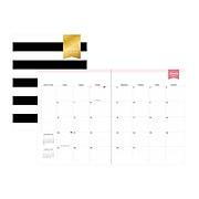 "2020 Blue Sky Day Designer 8"" x 11"" Planner, Black Stripe (116835)"