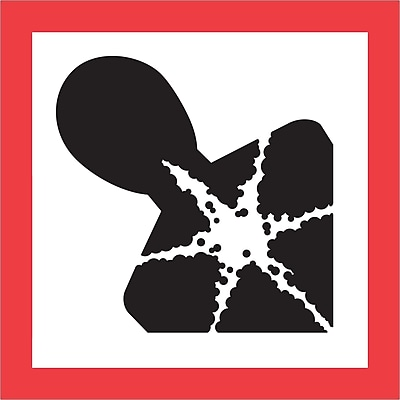 Tape Logic® Pictogram Labels, Health Hazard, 1