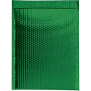 "Glamour Bubble Mailers, 13"" x 17 1/2"", Green, 100/Case (GBM1317G)"