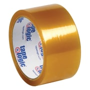 """Tape Logic® Natural Rubber Tape, 2.2 Mil, 2"""" x 110 yds., Clear, 6/Case (T902516PK)"""