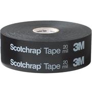 "3M 51 ScotchwrapCorrosion Protection Tape, 20 Mil, 4"" x 100', Black, 1/Case (T969511PK)"