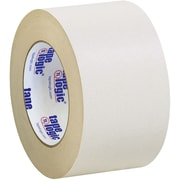 "Tape Logic® Double Sided Masking Tape, 7 Mil, 3"" x 36 yds., Tan, 16/Case (T958100)"