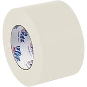 """Tape Logic® #5400 Flatback Tape, 3"""" x 60 yds., Natural White, 6/Case (T94854006PK)"""