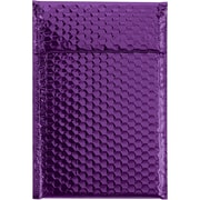 "Glamour Bubble Mailers, 7 1/2"" x 11"", Purple, 72/Case (GBM0711PL)"