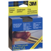 "3M 7635NA Safety-Walk Tape, 2"" x 15', Black, 6/Case (T9677635NA)"