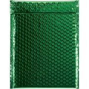 "Glamour Bubble Mailers, 9"" x 11 1/2"", Green, 100/Case (GBM0911G)"