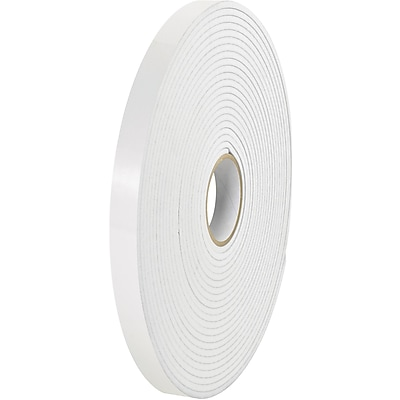 Tape Logic® Removable Double Sided Foam Tape, 1/16