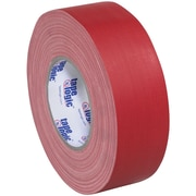 "Tape Logic® Gaffers Tape, 11 Mil, 1"" x 60 yds., Red, 48/Case (T98618R)"