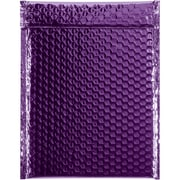 "Glamour Bubble Mailers, 9"" x 11 1/2"", Purple, 100/Case (GBM0911PL)"