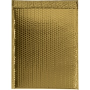 "Glamour Bubble Mailers, 16"" x 17 1/2"", Gold, 48/Case (GBM1617GD)"