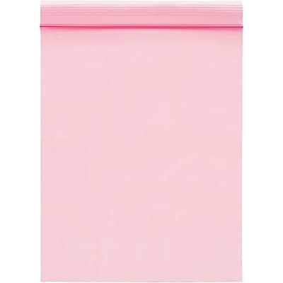 Anti-Static 2 Mil Reclosable Poly Bags, 12