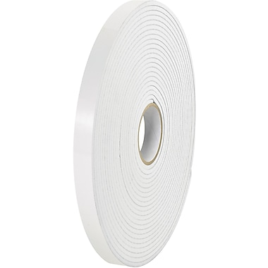 Tape Logic® Removable Double Sided Foam Tape, 1/32