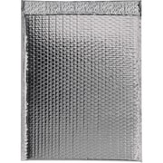 "Glamour Bubble Mailers, 19"" x 22 1/2"", Silver, 48/Case (GBM1922S)"