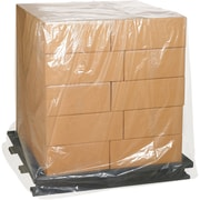 "Pallet Covers, 3 Mil, 52"" x 48"" x 130"", Clear, 35/Case (PC181)"