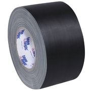 "Tape Logic® Gaffers Tape, 11 Mil, 4"" x 60 yds., Black, 3/Case (T98918B3PK)"