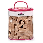 Edushape Soft Woodlike Blocks, 30-Piece Bag (EDS716070)