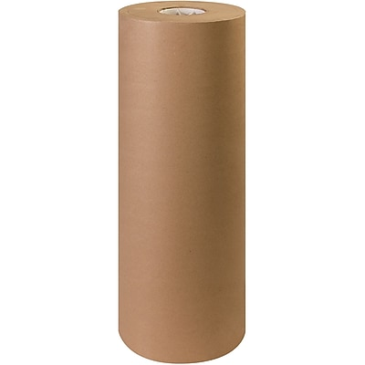 Partners Brand Virgin Kraft Paper Rolls, 40#, 24