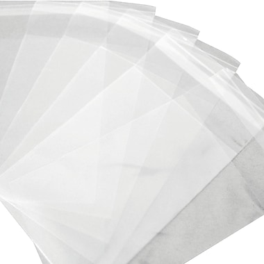 Resealable Polypropylene Bags 1.5 Mil, 4 3/8