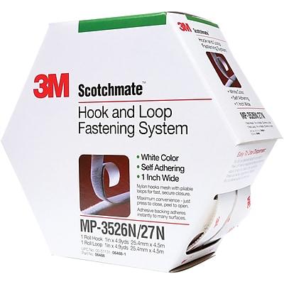 3M MP3526N/MP3527N ScotchmateCombo Pack Fasteners, 1