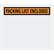 "Tape Logic® ""Packing List Enclosed"" Envelopes, 10"" x 12"", Orange, 500/Case (PL434)"