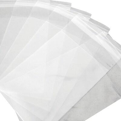 Resealable Polypropylene Bags 1.5 Mil, 5 1/2