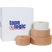 Tape Logic® #7200 Reinforced Water Activated Tape, 72mm x 375', White, 8/Case (T9067200W)