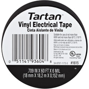 "3M 1615 Electrical Tape, 6 Mil, 3/4"" x 60', Black, 100/Case (T9641615)"