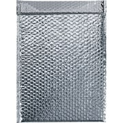 "Cool Shield Bubble Mailers, 12 3/4"" x 10 1/2"", Silver, 50/Case (INM1210)"