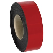 "Warehouse Labels, Magnetic Rolls, 2"" x 100', Red, 1/Case (LH148)"