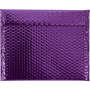 "Glamour Bubble Mailers, 13 3/4"" x 11"", Purple, 48/Case (GBM1311PL)"